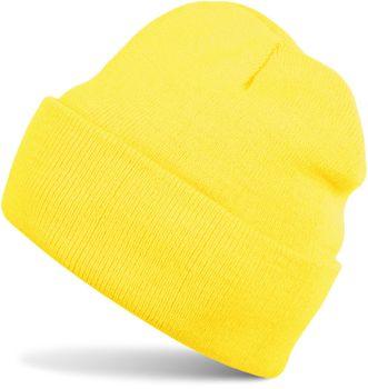 styleBREAKER Unisex warme Beanie Strickmütze, Feinstrick Mütze doppelt gestrickt, Winter 04024029 – Bild 15