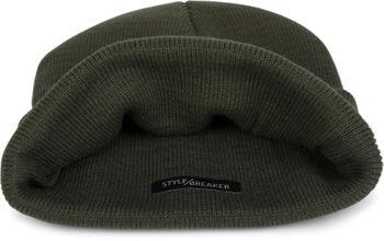 styleBREAKER Unisex warme Beanie Strickmütze, Feinstrick Mütze doppelt gestrickt, Winter 04024029 – Bild 33