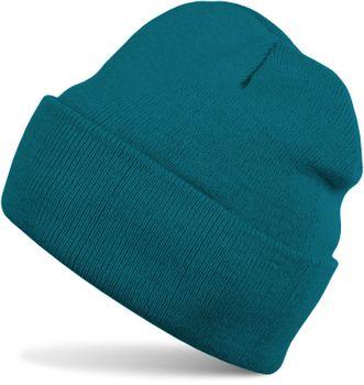 styleBREAKER Unisex warme Beanie Strickmütze, Feinstrick Mütze doppelt gestrickt, Winter 04024029 – Bild 34