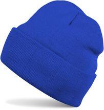styleBREAKER klassische Beanie Strickmütze, warme Feinstrick Mütze doppelt gestrickt, Unisex 04024029 – Bild 9