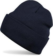 styleBREAKER klassische Beanie Strickmütze, warme Feinstrick Mütze doppelt gestrickt, Unisex 04024029 – Bild 7