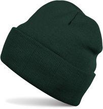 styleBREAKER klassische Beanie Strickmütze, warme Feinstrick Mütze doppelt gestrickt, Unisex 04024029 – Bild 12