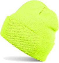 styleBREAKER klassische Beanie Strickmütze für Kinder, Feinstrick Mütze doppelt gestrickt, Kindermütze 04024030 – Bild 1