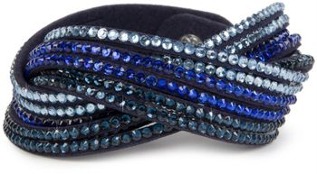 styleBREAKER soft and elegant rhinestone wrab bracelet, wristband, 6x1-row, women jewelry 05040005 – Bild 26