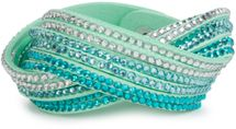 styleBREAKER soft and elegant rhinestone wrab bracelet, wristband, 6x1-row, women jewelry 05040005 – Bild 41