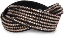 styleBREAKER soft and elegant rhinestone wrab bracelet, wristband, 6x1-row, women jewelry 05040005 – Bild 46