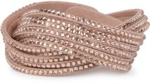 styleBREAKER soft and elegant rhinestone wrab bracelet, wristband, 6x1-row, women jewelry 05040005 – Bild 51