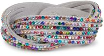 styleBREAKER soft and elegant rhinestone wrab bracelet, wristband, 6x1-row, women jewelry 05040005 – Bild 17