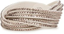 styleBREAKER soft and elegant rhinestone wrab bracelet, wristband, 6x1-row, women jewelry 05040005 – Bild 30