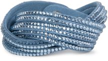 styleBREAKER soft and elegant rhinestone wrab bracelet, wristband, 6x1-row, women jewelry 05040005 – Bild 34