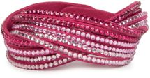 styleBREAKER soft and elegant rhinestone wrab bracelet, wristband, 6x1-row, women jewelry 05040005 – Bild 36