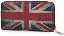 styleBREAKER Union Jack designer purse in United Kingdom vintage design with zipper, women 02040021 – Bild 5