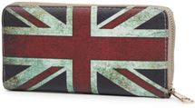 styleBREAKER Union Jack designer purse in United Kingdom vintage design with zipper, women 02040021 – Bild 3