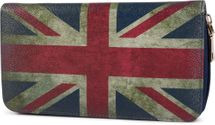 styleBREAKER Union Jack designer purse in United Kingdom vintage design with zipper, women 02040021 – Bild 7