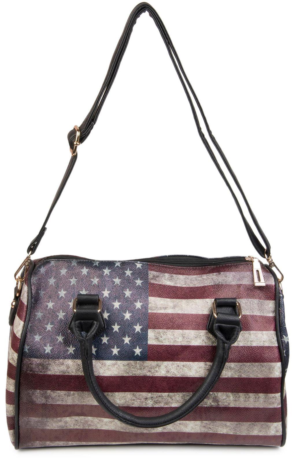 Bowling Bag im USA Flaggen Design