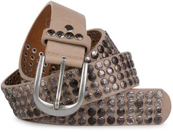 styleBREAKER studded belt with star studs in a vintage design, 03010050 – Bild 23
