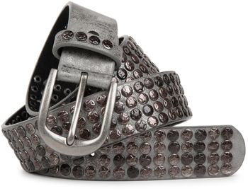 styleBREAKER studded belt with star studs in a vintage design, 03010050 – Bild 7