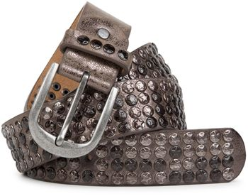 styleBREAKER studded belt with star studs in a vintage design, 03010050 – Bild 9