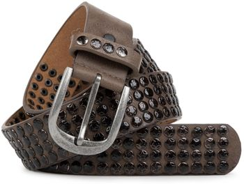 styleBREAKER studded belt with star studs in a vintage design, 03010050 – Bild 15