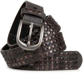 styleBREAKER studded belt with star studs in a vintage design, 03010050 – Bild 1
