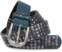 styleBREAKER studded belt with star studs in a vintage design, 03010050 – Bild 19