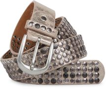 styleBREAKER studded belt with star studs in a vintage design, 03010050 – Bild 21