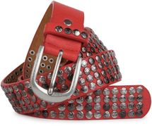 styleBREAKER studded belt with star studs in a vintage design, 03010050 – Bild 27