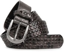 styleBREAKER studded belt with star studs in a vintage design, 03010050 – Bild 11