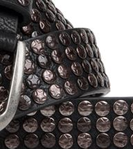 styleBREAKER studded belt with star studs in a vintage design, 03010050 – Bild 14