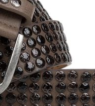 styleBREAKER studded belt with star studs in a vintage design, 03010050 – Bild 16