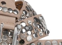 styleBREAKER studded belt with various studs and rhinestones in a vintage design, 03010051 – Bild 24