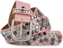 styleBREAKER studded belt with various studs and rhinestones in a vintage design, 03010051 – Bild 27