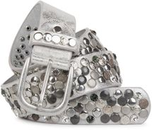 styleBREAKER studded belt with various studs and rhinestones in a vintage design, 03010051 – Bild 31