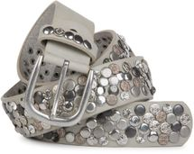 styleBREAKER studded belt with various studs and rhinestones in a vintage design, 03010051 – Bild 29