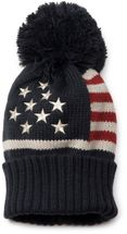 styleBREAKER's stylish knitted hat in a USA-inspired stars and stripes design. – Bild 2