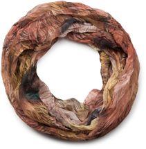styleBREAKER foliage pattern loop tube scarf, crash and crinkle, silky and light, women 01016086 – Bild 3
