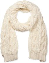 styleBREAKER scarf, cap and glove set, braid pattern knit scarf with Bobble Cap and gloves, women 01018208 – Bild 22