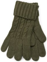styleBREAKER scarf, cap and glove set, braid pattern knit scarf with Bobble Cap and gloves, women 01018208 – Bild 48