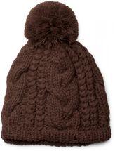styleBREAKER Schal, Mütze und Handschuh Set, Zopfmuster Strickschal mit Bommelmütze und Handschuhe, Damen 01018208 – Bild 28
