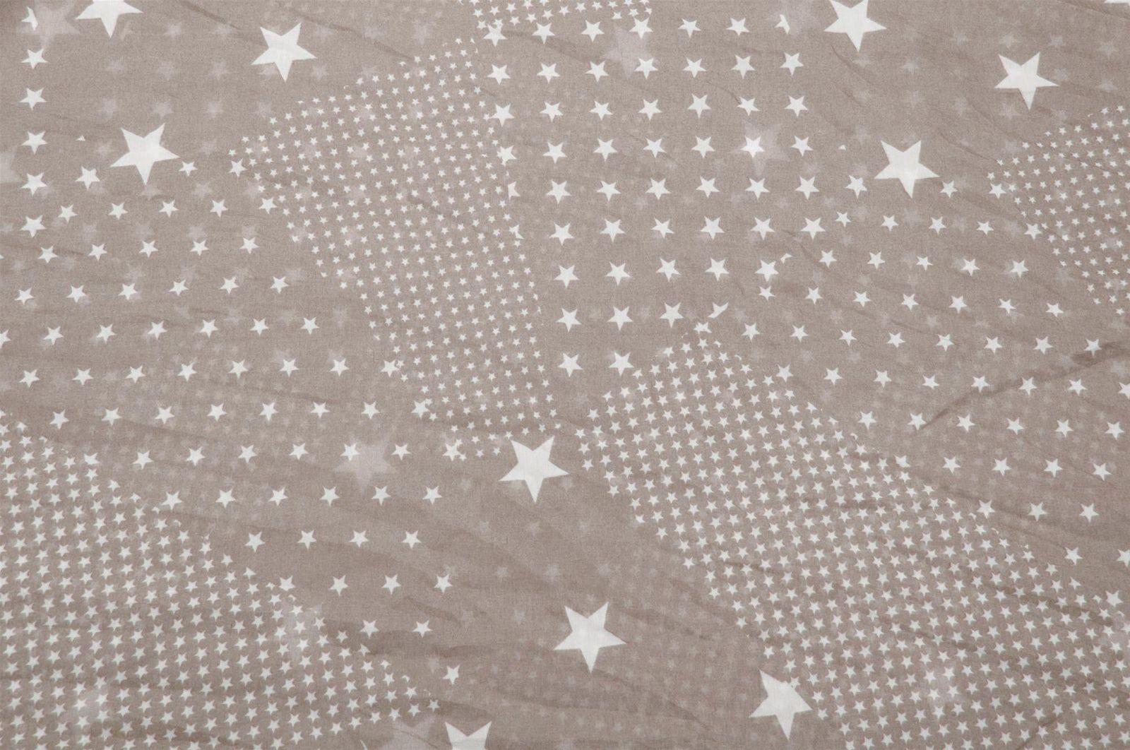 seidig leicht Damen 01016088 styleBREAKER Sterne Muster Loop Schlauchschal