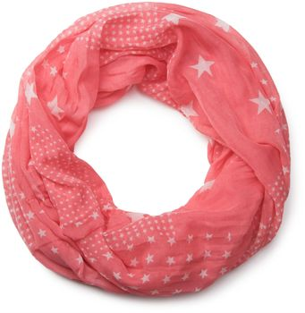 styleBREAKER star pattern loop tube scarf, silky and light, women 01016088 – Bild 11