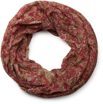 styleBREAKER tube scarf snood with an ornamental Indian-style Paisley pattern, 01016089 – Bild 11