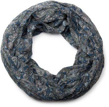 styleBREAKER Indian Style Paisley Muster Loop Schlauchschal, seidig leicht, Unisex 01016089 – Bild 13