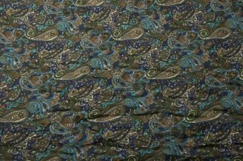 styleBREAKER tube scarf snood with an ornamental Indian-style Paisley pattern, 01016089 – Bild 8