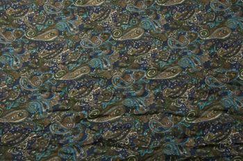 styleBREAKER Indian Style Paisley Muster Loop Schlauchschal, seidig leicht, Unisex 01016089 – Bild 8