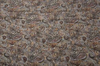 styleBREAKER Indian Style Paisley Muster Loop Schlauchschal, seidig leicht, Unisex 01016089 – Bild 10