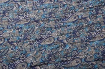 styleBREAKER tube scarf snood with an ornamental Indian-style Paisley pattern, 01016089 – Bild 18