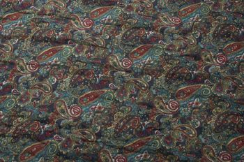 styleBREAKER tube scarf snood with an ornamental Indian-style Paisley pattern, 01016089 – Bild 4
