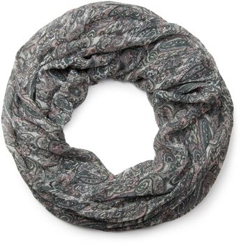 styleBREAKER tube scarf snood with an ornamental Indian-style Paisley pattern, 01016089 – Bild 15