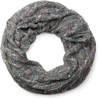 styleBREAKER Indian Style Paisley Muster Loop Schlauchschal, seidig leicht, Unisex 01016089 – Bild 15